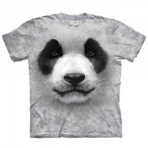 Big Face T-shirt - panda