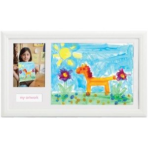 Billedramme til barnets kunstværker
