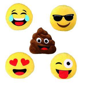 Bløde emojipuder