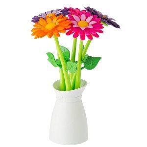 Blomster kuglepensæt