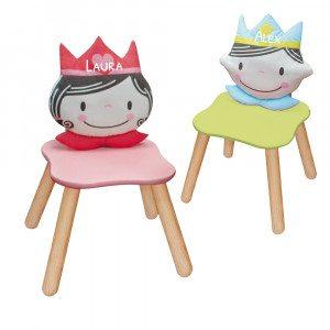 Børnestol med navn