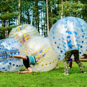 Bumperball for 8-20 personer - Faaborg