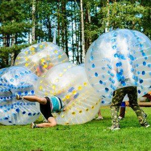 Bumperball for 8-20 personer - Hanstholm
