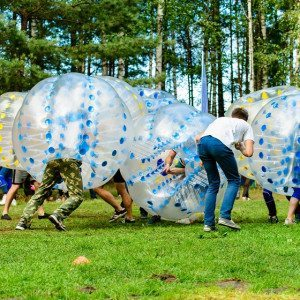 Bumperball for 8-20 personer - Langå