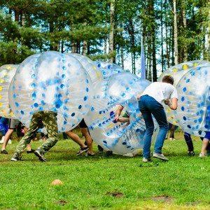Bumperball for 8-20 personer - Skive