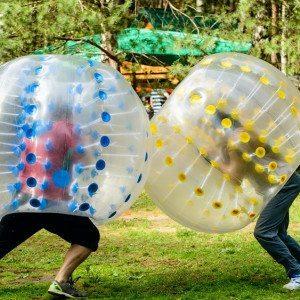 Bumperball for 8-20 personer - Svendborg