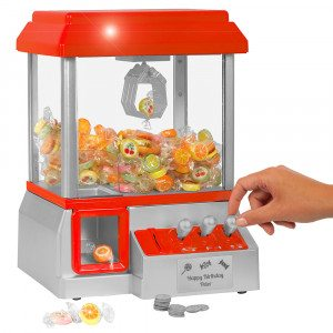 Candy Grabber - slikmaskine med eller uden navn