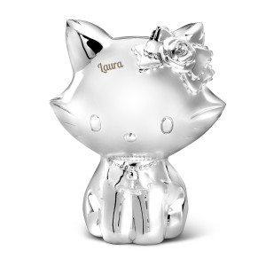 Charmmy Kitty-sparekrukke med indgravering