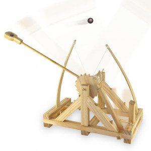 Da Vincis katapult - byggesæt