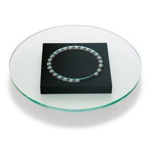 Drejetallerken af glas fra Philippi