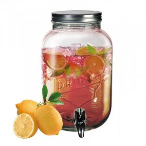 Drikkebeholder i glas
