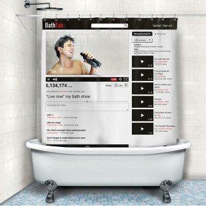 Duschvorhang 2.0 - Bath Tub