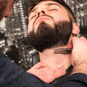 Eksklusiv barbering inkl. ansigts- og hovedbundsmassage - Slagelse
