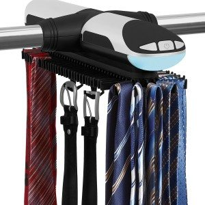 Elektrischer Krawattenhalter mit Beleuchtung
