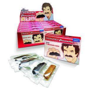 Emergency Moustache - udklædningsskæg