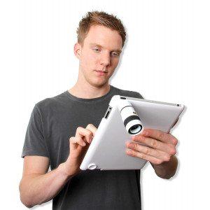 Eyescope - objektiv til iPad 2