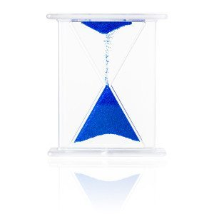 Farverigt timeglas