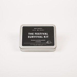 Festival-Survival-Kit für ihn - Dose