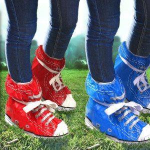 Festivalsko i sneakers-look