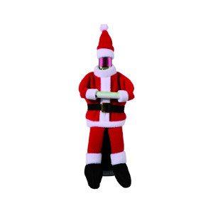 Flaskeskjuler med julemandstøj