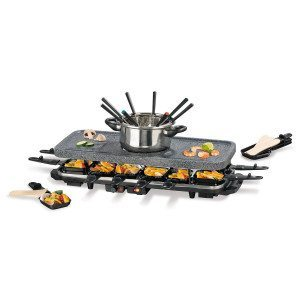 2-i-1 fondue & raclette sæt