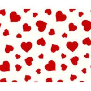 Gavepapir med hjerter