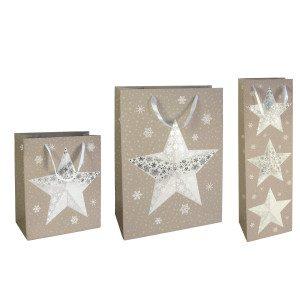 Gavepose med flot stjerne
