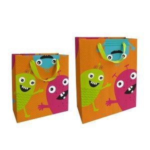 Gavepose med små monstre