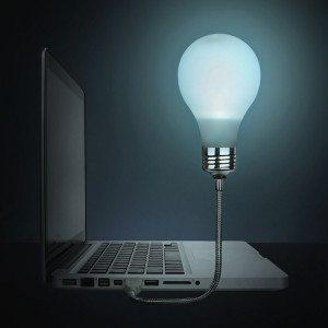 Glødepære til laptop