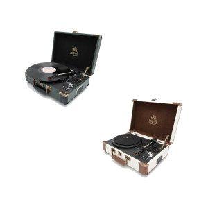 GPO Ambassador - Bluetooth Koffer-Plattenspieler
