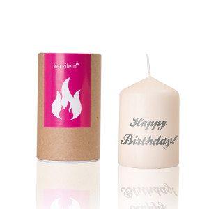 Happy Birthday - fødselsdagslys