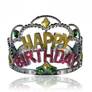 Happy Birthday-krone