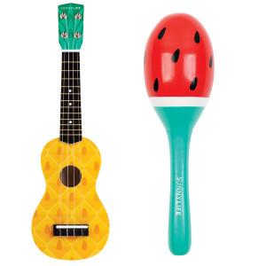 Instrumente Tropikfrucht Ukulele - Vorderansicht
