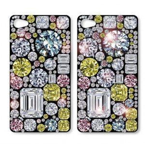 iPhone-cover med bling bling