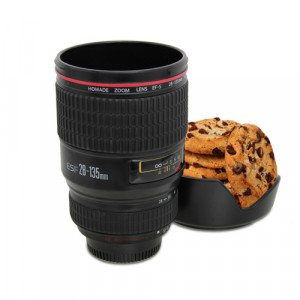 Kameraobjektiv-snacksæt