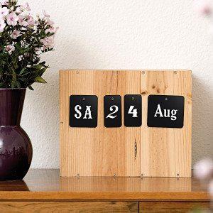 Karten-Kalender zum Selbstgestalten