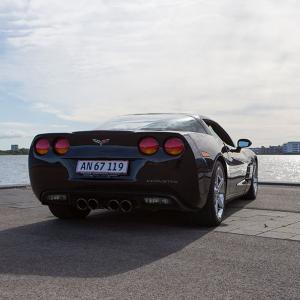 Konfirmationskørsel i Corvette C6 for 1 person - Aalborg