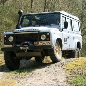 Land Rover Experience - halv dag - Vejle