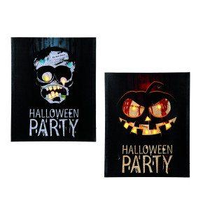 LED-billede til halloween