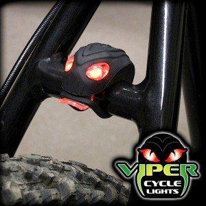 LED-cykellygte med slangeøjne