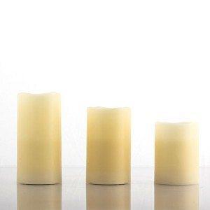 LED-duftlys af ægte voks