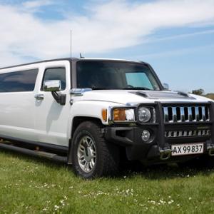 Limousinekørsel Hummer H2 2005 for op til 4 personer - Sydsjælland