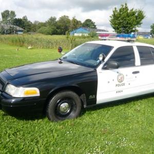 Limousinekørsel i amerikansk L.A.P.D politibil for op til 4 personer - Storkøbenhavn