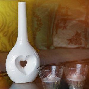 Love - kærlighedsvase