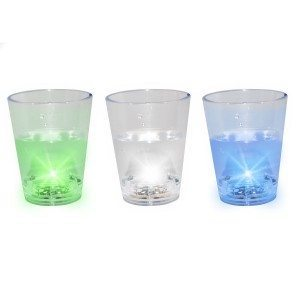 Lysende shotsglas