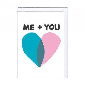 Me + You - kort