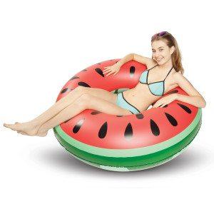 Melon- eller ananasformet badering