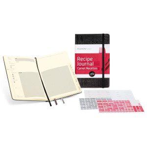 Moleskine-notesbog til opskrifter