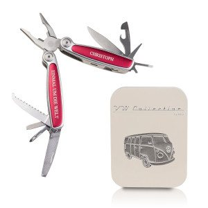 Multi-Tool der VW-Collection mit Gravur