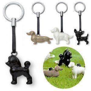 Nøglering med hund fra Philippi